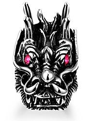 preiswerte -Herrn Knöchel-Ring Schmuck Personalisiert Punk Edelstahl Aleación Geometrische Form Spielzeug TOY Modeschmuck Halloween Strasse