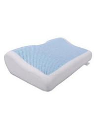 Summer Cool Gel Polyester Fiber Bedding Pillow Massager 50x31x12/6cm Memory Foam Pillows Comfortable Cervical