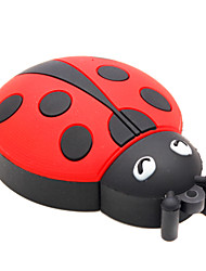 cheap -ZPK15 16GB Beetle Coccinella Septempunctata Cartoon USB 2.0 Flash Memory Drive U Stick