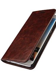 preiswerte -Hülle Für Samsung Galaxy Samsung Galaxy Hülle Kreditkartenfächer Geldbeutel mit Halterung Flipbare Hülle Ganzkörper-Gehäuse Volltonfarbe
