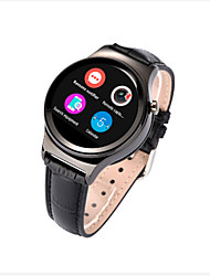 cheap -New Round Smart Watch with SIM Card Slot & Heart Rate Sensor for iOS Android Smartphone MT2502 IPS screen