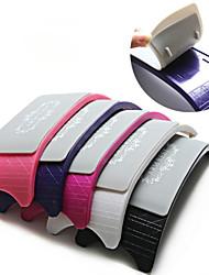 1pc acrylique de haute qualité de la couleur de l'outil d'oreiller à la main aléatoire de silicone