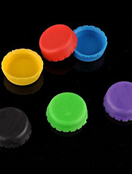 Silicone Bottle Cap Cover Beer Saver Stopper Lid Cap Reusable (Random Color)