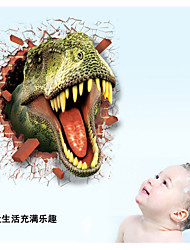cheap -LC7003 Hot Sale 3D Dinosaur Wall Stickers for TV Wall Kids Bedroom Wall Home Decoration