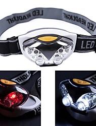 Недорогие -OEM Налобные фонари Водонепроницаемый Маленький размер 1200 lm Светодиодная лампа LED излучатели 3 Режим освещения Водонепроницаемый Маленький размер