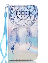cheap -For Samsung A3(2017) A5(2017) Card Holder Wallet with Stand Case Full Body Case Dream Catcher Hard PU Leather
