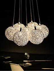 cheap -7-Light Pendant Light Ambient Light - Mini Style, LED, 110-120V / 220-240V, Warm White / White, Bulb Included / G4 / 15-20㎡