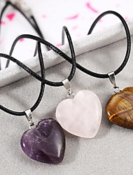 Men's Women's Pendant Necklaces Agate Fashion Jewelry For Daily Casual
