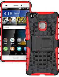 Pour Coque Huawei P9 P9 Lite P8 Lite Antichoc Coque Coque Arrière Coque Armure Dur Silicone pour HuaweiHuawei P9 Lite Huawei P8 Lite