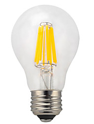 cheap -E26/E27 LED Filament Bulbs A60(A19) 10 COB 950 lm Warm White Cold White 2700 K Waterproof Decorative AC 220-240 V