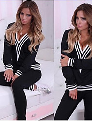 cheap -Women's Long Sleeve Running Tracksuit Clothing Suits Thermal / Warm Breathable Compression Sports WearExercise & Fitness Leisure Sports