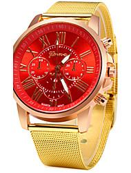 cheap -Women's Casual Design Gold Alloy Band Quartz Wristwatch Cool Watches Unique Watches Strap Watch