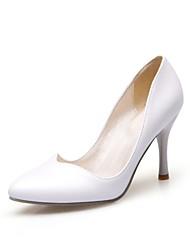お買い得  -女性用 靴 レザーレット 春 / 夏 スティレットヒール ブラック / グリーン / ピンク / パーティー / ドレスシューズ / パーティー