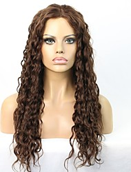 In Stock Deep Curly Human Virgin Hair Glueless Lace Front Wig With Baby Hair for Black Women