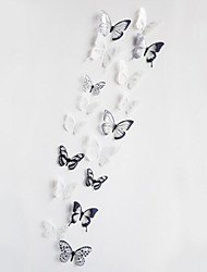 cheap -3D Crystal Butterfly Sitting Room Bedroom Wedding Celebration Wall Stickers in the Background 18 Medals