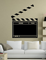 Wall Stickers Wall Decals Style The Movie Clapperboards Office Blackboard PVC Wall Stickers