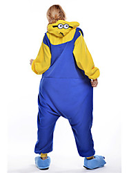 Pijama Cosplay - Minion do Meu Malvado Favorito Adulto de Fleece.