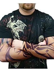 половина рукава татуировки для мужчин 2016 года нового прибытия задействуя манжета митенки ВС воздухопроницаемость эластичный велосипед