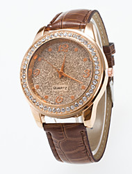 cheap -2016 Special Design Ladies Wristwatch Fashionable  Wristwatch With Rhinestone And Frosting  Dial Women's Watch Cool Watches Unique Watches Strap Watch