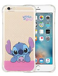 economico -Per iPhone X iPhone 8 iPhone 6 iPhone 6 Plus Custodie cover Resistente agli urti Transparente Custodia posteriore Custodia Cartoni animati
