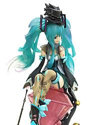 billiga -Anime Actionfigurer Inspirerad av Cosplay Hatsune Miku 20 cm CM Modell Leksaker Dockleksak