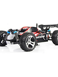 abordables -Coche de radiocontrol  WL Toys A959 2.4G 4WD Alta Velocidad Drift Car Off Road Car Buggy (de campo traversa) 1:18 Brush Eléctrico 45 KM /