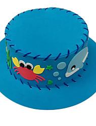 Недорогие -красочная шляпы образовательные игрушки дети шапка DIY мультфильма HANDWORK рукоделие изделия ручной работы детей хобби игрушки 3d