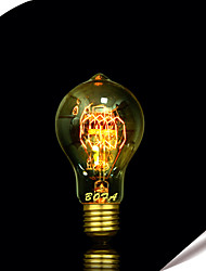 cheap -E27 25W A19 Edison Tungsten Filament Bulb 60 High Quality Incandescent Bulbs