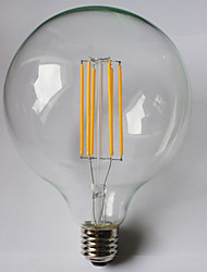 cheap -8W E26/E27 LED Filament Bulbs G125 8 COB 980 lm Warm White Amber 2700 K Waterproof Decorative AC 85-265 V