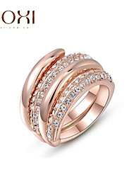 cheap -Women's Alloy Statement Ring - Fashion Rose Gold Ring For Wedding / Office & Career