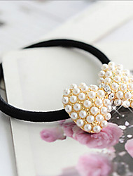 MISSING U Alloy / Imitation Pearl / Rhinestone Hair Ties Daily / Casual 1pc