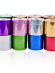 abordables -1roll nail art foils-Autre décorations-Doigt / Orteil- enAbstrait-6cmX120m each piece