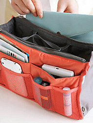 Travel Toiletry Bag Travel Luggage Organizer / Packing Organizer Travel Storage Multi-function for Clothes Nylon / Women's Travel