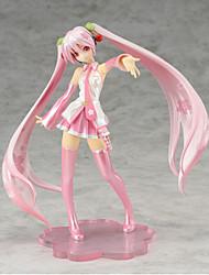 billiga -Anime Actionfigurer Inspirerad av Vocaloid Hatsune Miku pvc 20 cm CM Modell Leksaker Dockleksak