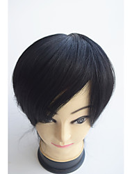 """Недорогие -тонкая кожа мужской парик 8 """"x10"""" бразильский девственные волосы парик человека мужские волосы частей системы парик"""