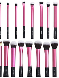 cheap -20pcs Professional Makeup Brushes Makeup Brush Set Synthetic Hair / Nylon Eye / 3 * Eyeshadow Brush / 7 * Lip Brush Middle Brush /