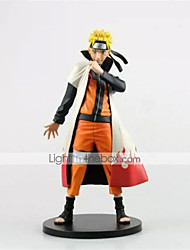 Naruto Naruto Uzumaki PVC One Size Anime Action Figures Model Toys Doll Toy 1pc 25cm