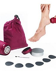 Body collant / Pied Masajeador Electrique Palper-Rouler Stimule le recyclage du sang. Contrôle de vitesse variable Plastic #(1 set)