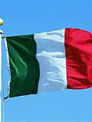 cheap -New 90*150Cm Hanging Big Italy Flag Banner Indoor Outdoor Home Decor (No flagpole)