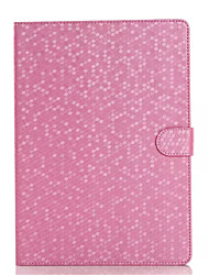 el caso de cuero del diamante de moda para el ipad 2 del soporte del tirón de aire cubierta de la caja protectora de la tableta elegante