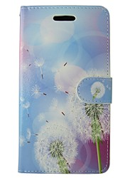 cheap -Case For Huawei P9 / Huawei Y550 / Huawei P8 P9 / P8 Lite / P8 Wallet / Card Holder / with Stand Full Body Cases Dandelion Hard PU Leather for Huawei P9 / Huawei P8 Lite / Huawei P8