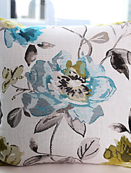 Waterpainting Jacquard Cushion Cover -Green