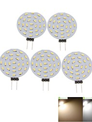 cheap -2W G4 LED Spotlight MR11 36 SMD 3014 120-150lm Warm White Cold White 3000-3500 6000-6500K Decorative DC 12 AC 12V