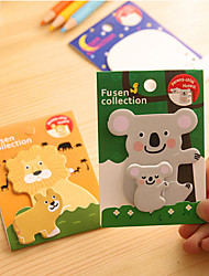 cheap -Animal Parent-child Self-Stick Notes(1 PCS)