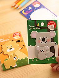 Animal Parent-child Self-Stick Notes(1 PCS)