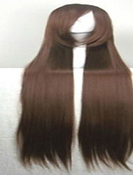 Popular Cosplay Wigs Party Wig Brown Cartoon Wig 40 Inches Super Long Straight Animated Synthetic Hair Wig