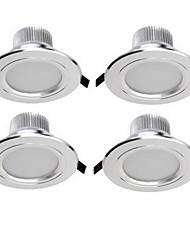 Недорогие -YouOKLight 4шт 3 W 300 lm Встроенное освещение 6 Светодиодные бусины SMD 5730 Декоративная Тёплый белый / Холодный белый 85-265 V / 4 шт. / RoHs / 90