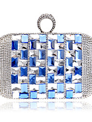 cheap -Women Bags Polyester Clutch Evening Bag Cosmetic Bag Acrylic Jewels for Wedding Event/Party Formal Office & Career Winter Spring Summer
