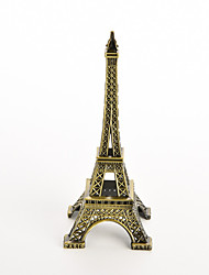 18CM Eiffel Tower Statue Sculpture Paris Decor Metal Wedding Supplies Ornament