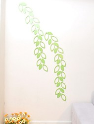 6piece/set Home Decor  3D Stereoscopic Wooden Wall Sticker Bedroom Living Room Sofa TV Background Wall Sticker